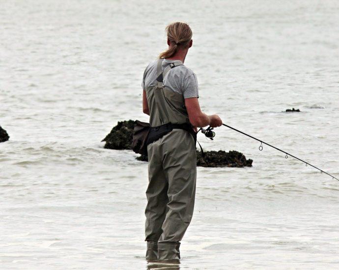 Spodniobuty dla rybaków