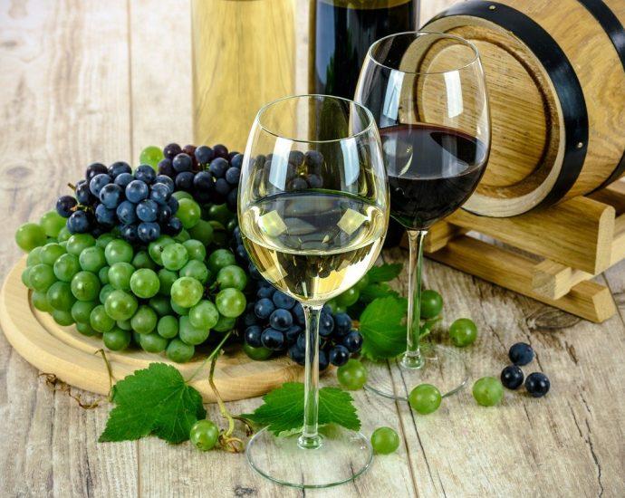 Podstawowe rodzaje win